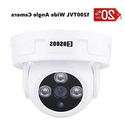 "COSOOS 1/3"" CMOS 1200TVL CCTV Home Security Indoor 3pcs Arra"