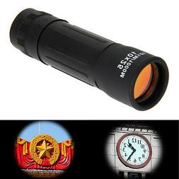 10*25 Zoomable Optical Lens Night Vision Monocular Telescope