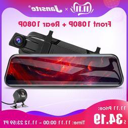 "Jansite 10"" Touch Screen <font><b>1080P</b></font> Car DVR D"
