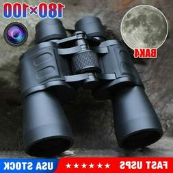 100X180 Binoculars with Night Vision BAK4 Prism High Power W