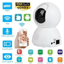 1080P/720P WiFi IP Camera Video Audio Home Security Baby Mon