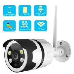Wifi Two-Way Audio Color Night Vision Outdoor IP Camera 1080