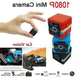 1080P COP CAM Security Camera Motion Detection 32GB Card Nig