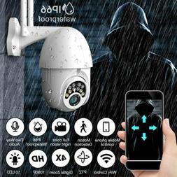 1080P HD IP CCTV Camera Zoom WiFi Home Security Wireless IR