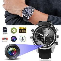 1080P HD Watch Hidden Camera Video Recorder Camcorder w/IR N