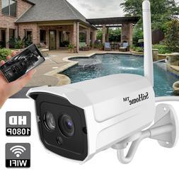 1080P Home Security Smart Camera Wi-Fi Wireless IR Night Vis