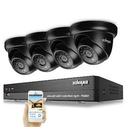 SANNCE 1080P Security Camera System 4CH