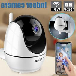 1080p wifi indoor smart security camera home