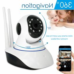 1080P Wireless Wifi Baby,Pet Monitor Panoramic Night Vision