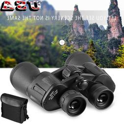 10KM Day Night Vision Binoculars Outdoor 10X50 Travel Telesc