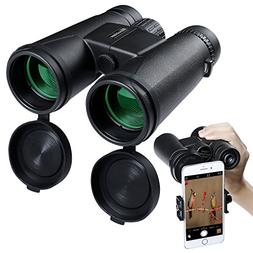 10x42Binoculars for Adults, Compact Binoculars High Powered
