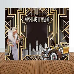 Allenjoy 10x8ft The Great Gatsby Themed Backdrop for Adult C