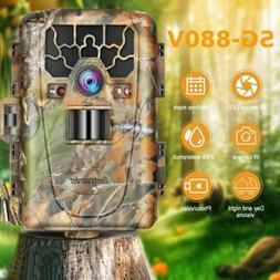Bestguarder 12MP Hunting Camera Photo Traps GPS SD Card MAX