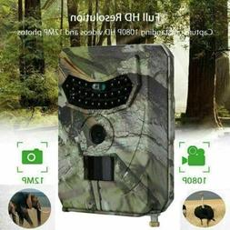 12mp trail camera deer bear hunt game