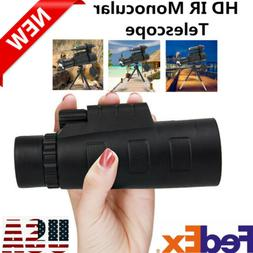 12X HD Optical Glass Infrared Day&Night Vision Telescope Adj