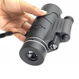12x50 hd night vision monocular telescope red