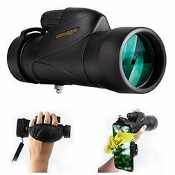 SOLOMARK 12X50 High Definition Monocular Handheld Waterproof