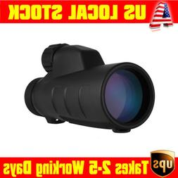 15x50mm Monocular 199FT High Times Optics Low Night Vision B