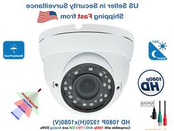16x 1080p Night Vision Outdoor CCTV Security Camera HD TVI A