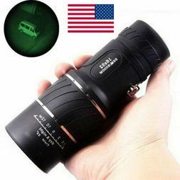 16X52 HD Optical Dual Focus Monocular Day Night Vision Hikin