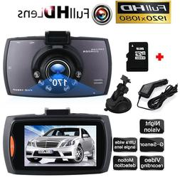 "2.4"" 1080P Night Vision Car DVR Video Recorder Camera Dash G"