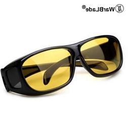 2018 High Quality Driving HD Night Vision Yellow Lens Sungla