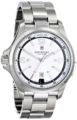 Victorinox Men's 241571 Night Vision Analog Display Swiss Qu