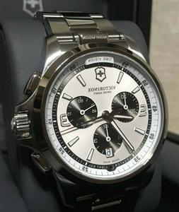 SALE 241728 Victorinox Swiss Army Night Vision Chronograph S