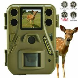 24MP Trail Camera Night Vision Hunting Game Cam Infrared no