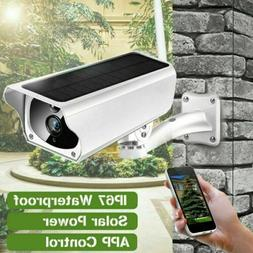 2MP Outdoor Solar Waterproof Wireless WiFi 1080P Security IP