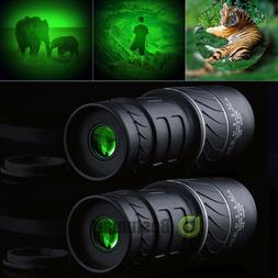 2x Day Night Vision 40X60 HD Optical Monocular Hunting Campi