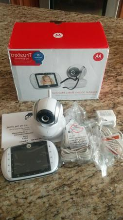 "Motorola 3.5"" Video Baby Monitor - MBP33XL Wireless Infrared"