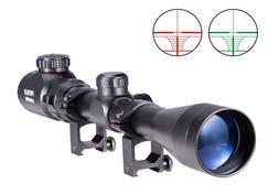 3-9x40 Air Rifle Scope Night Vision Airsoft Sniper Pellet Gu
