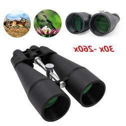 30-260X Zoomable Binoculars HIGH POWER Coated ZOOM Night Vis