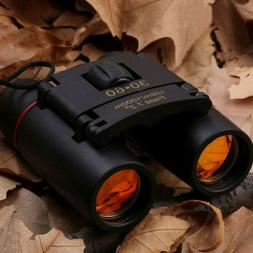 30x60 Day/Night Vision Folding Binoculars Hunting Long Range