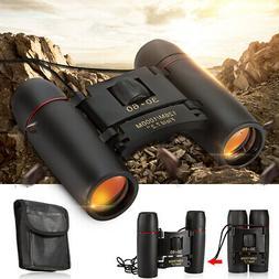 30x60 Zoom Outdoor Day Night Vision Travel Binoculars Huntin