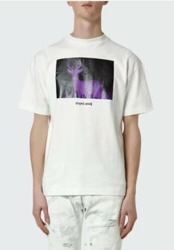 $310 palm angels men night vision deer t-shirt