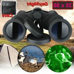 35x50 High Powered Binoculars Weak Light Night Vision fr Out