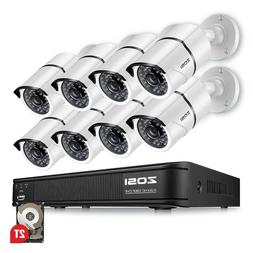 4 8ch1080p dvr night vision outdoor cctv