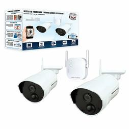 Night Owl 4-Channel 2-Camera 1080p Wireless Security System