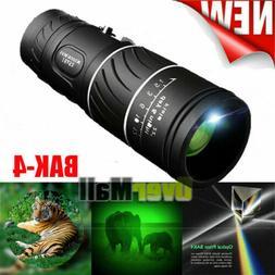 New 40X60 Binoculars BAK4 Prism High Power Waterproof with N