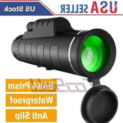40X60 HD Day Night Vision Optical Monocular Compact Telescop