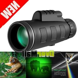 40X60 Zoom Binoculars with Night Vision BAK4 Prism High Powe