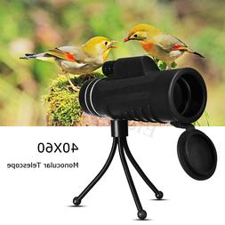 40X60 Zoom Monocular HD Telescope Night Vision Camera +Phone