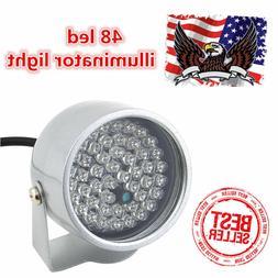48 LED Illuminator IR Infrared Night Vision Light Security L
