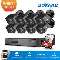 SANNCE 1080P HDMI 4CH 8CH DVR 2MP 3000TVL Video Home Securit