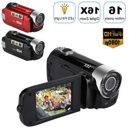 "FULL HD 1080P 16MP 2.7""LCD 16X ZOOM Digital Video DV Camera"