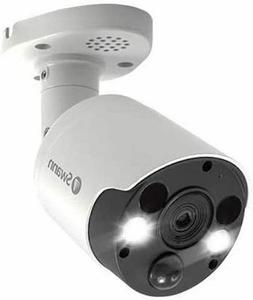 4k thermal sensing spotlight bullet security camera