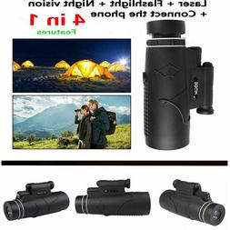 50X60 Magnification Pocket Portable Monocular Night Vision P