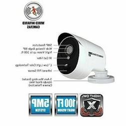 Night Owl 5MP Bullet Camera CM-PXHD50W-BU w/night vision and